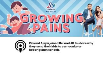 Pia And Aisya Joined Bel And JD To Share Why They Send Their Kids To Vernacular Or Kebangsaan Schools.